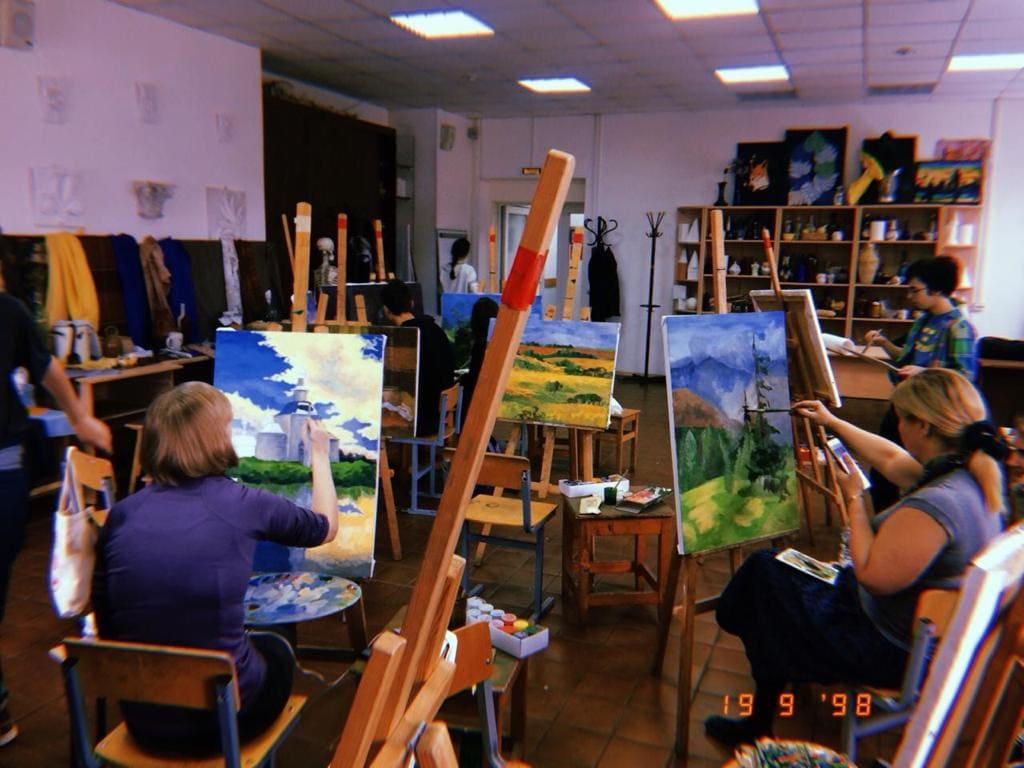 Мастерская живописи и рисунка